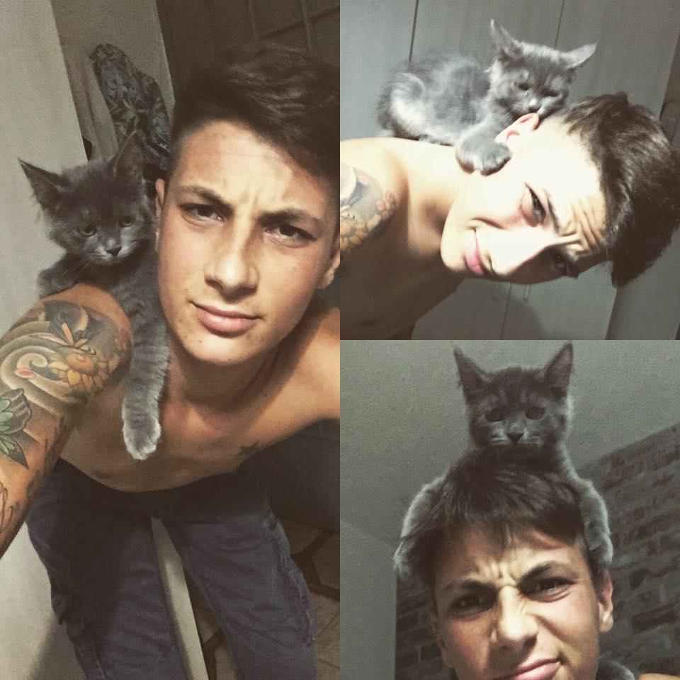 Paolo Pirrè, un ragazzo che ama gli animali