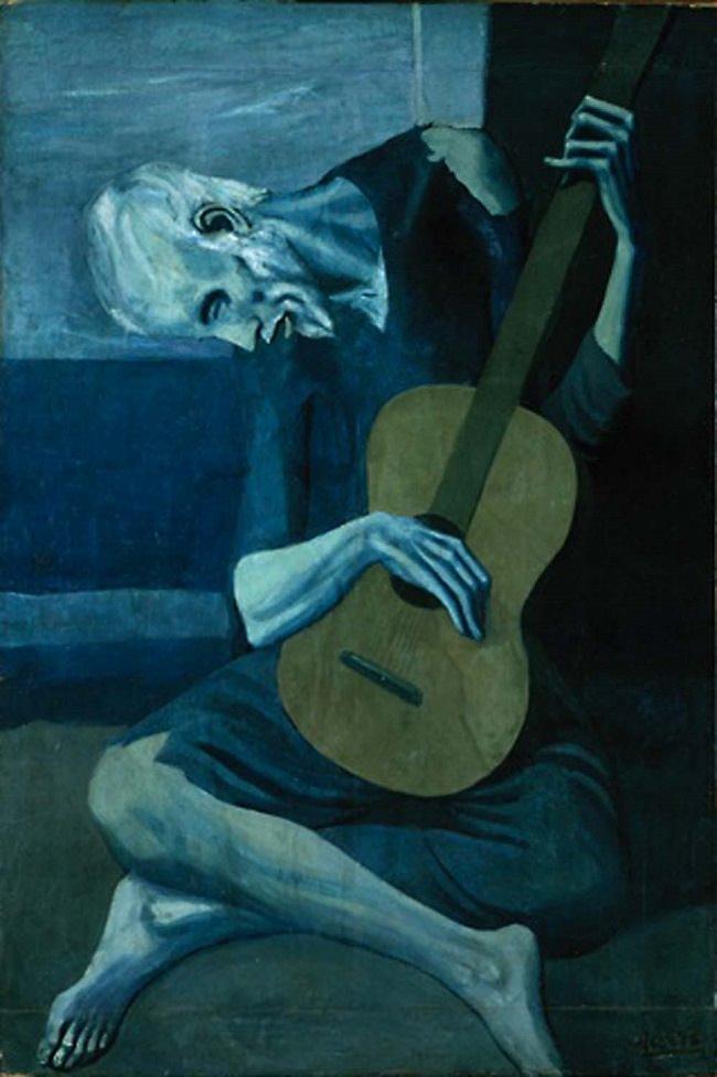 Il vecchio chitarrista cieco, 1903