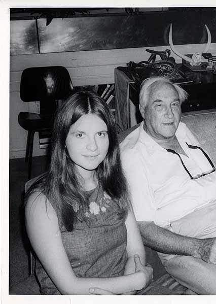 Birutè Galdikas insieme a Leakey