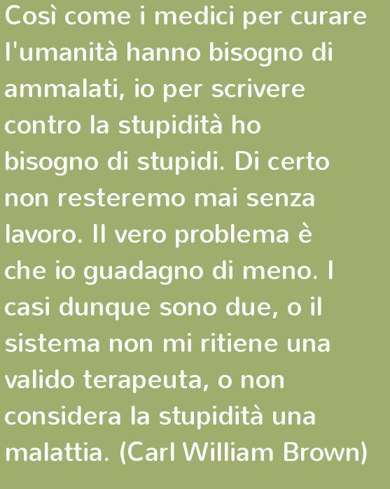 La stupidità, pensieri e citazioni