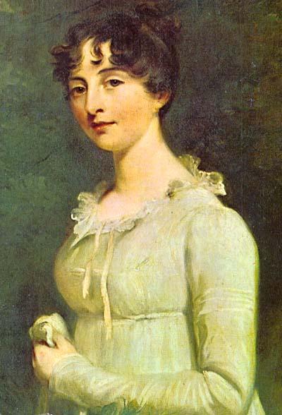 Jane Austen, ritratto di William Beechey