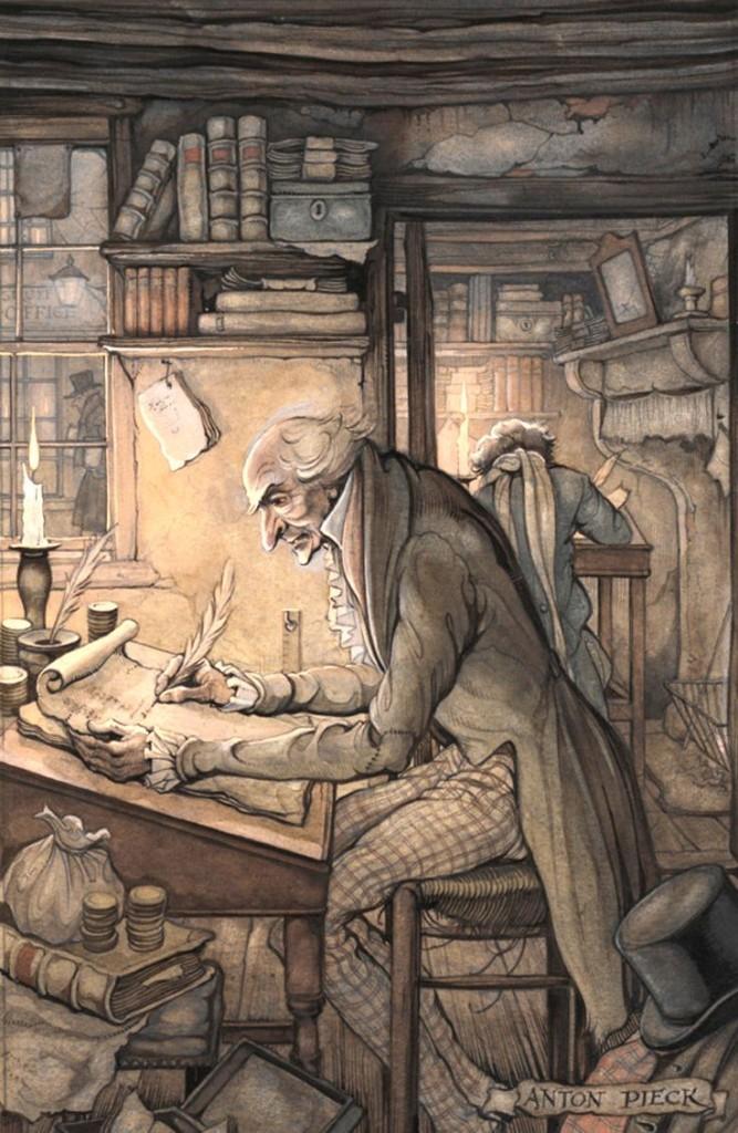 """Scrooge"" di Anton Pieck"