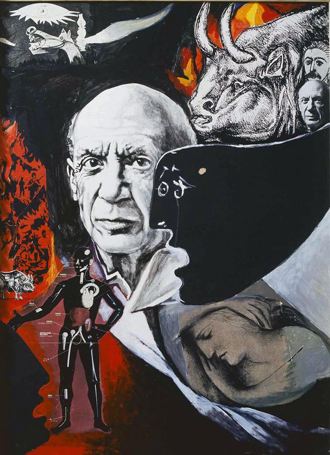 """""""Lamento per la morte di Picasso"""", 1973"""