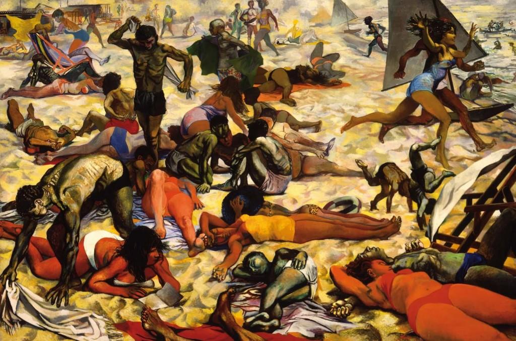La spiaggia, 1955-1956.