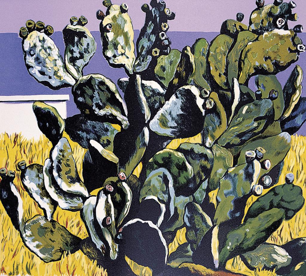 """""""Cactus sul golfo di Palermo"""", 1983."""
