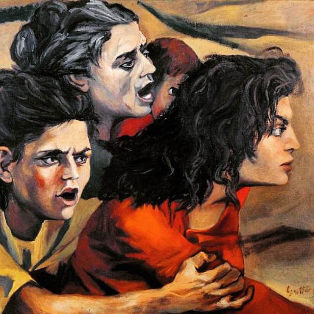 """Donne di zolfatari"", 1950."