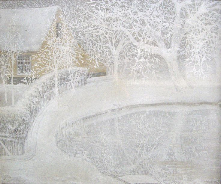 Garden in the Snow - Constant Montald