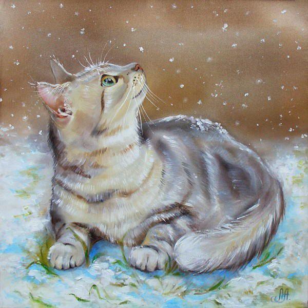 The First Snow - Annet Loginova.