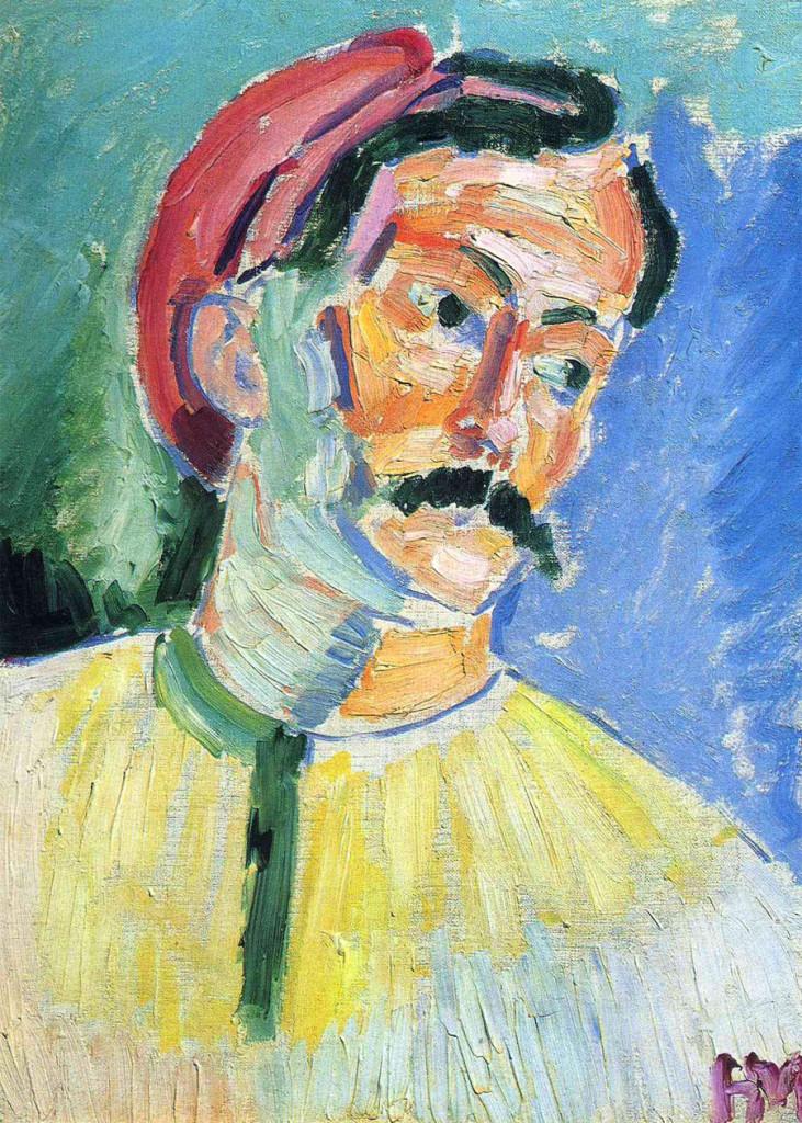 """""""Ritratto di André Derain"""", 1905."""