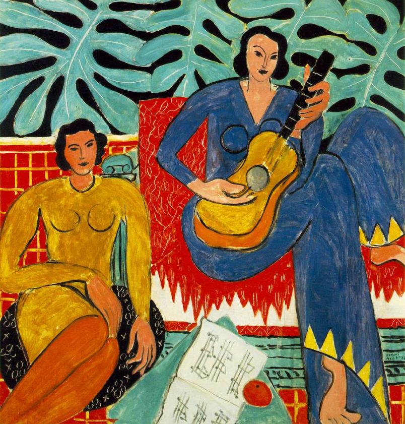 """""""La musica"""", 1909."""