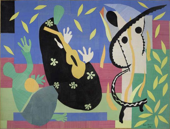 """""""La tristesse du Roi"""", 1952."""