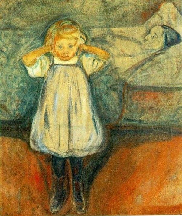 La bambina e la morte ( 1899)
