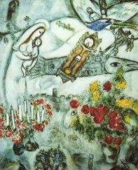 """""""Natività"""" di Marc Chagall"""