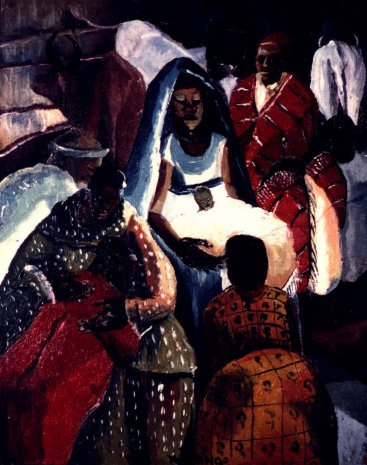 Francis Musango, Christ in the Manger.