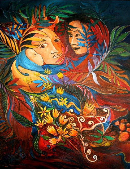Erland Sibuea, Nativity.