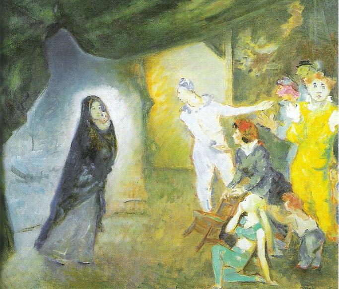 Aldo Carpi, Madonna con Bambino e teatranti
