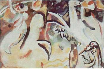 """""""Arabisches III (mit krug)"""", 1911, di Wassilij Kandinskij. Una vera e propria sinfonia spirituale del grande artista."""