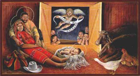ohn Giuliani, Guatemalan Nativity.