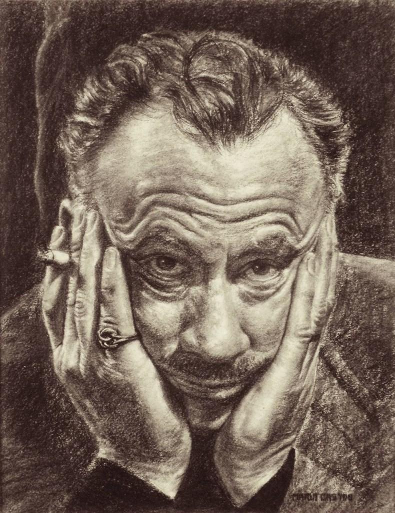 John Steinbeck, ritratto di Mario Castro.