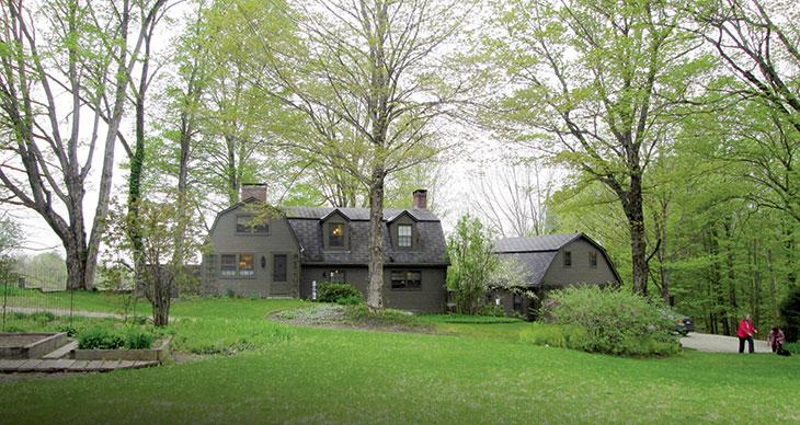 La villa in cui Salinger visse dal 1953 fino alla sua morte.