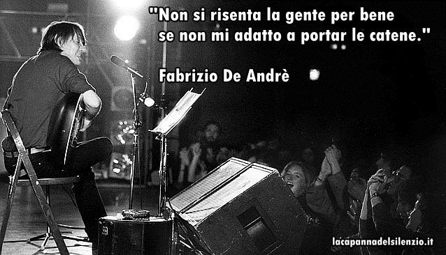 Fabrizio De Andre Biografia E Citazioni