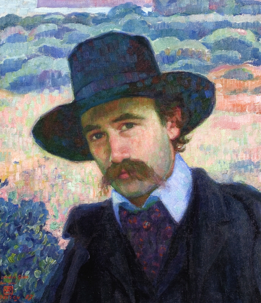 Andre Gide at Jersey - Theo van Rysselberghe