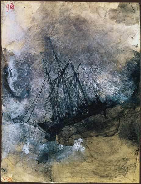 Un disegno di Victor Hugo.