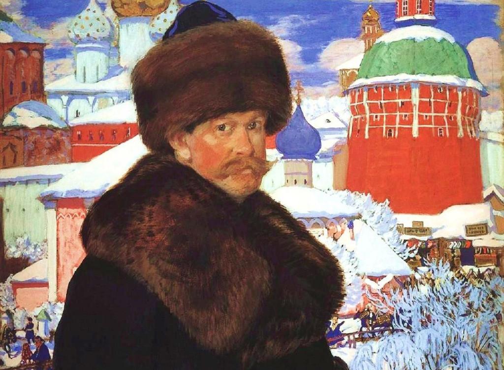 Illustrazione di Boris-Kustodiev.