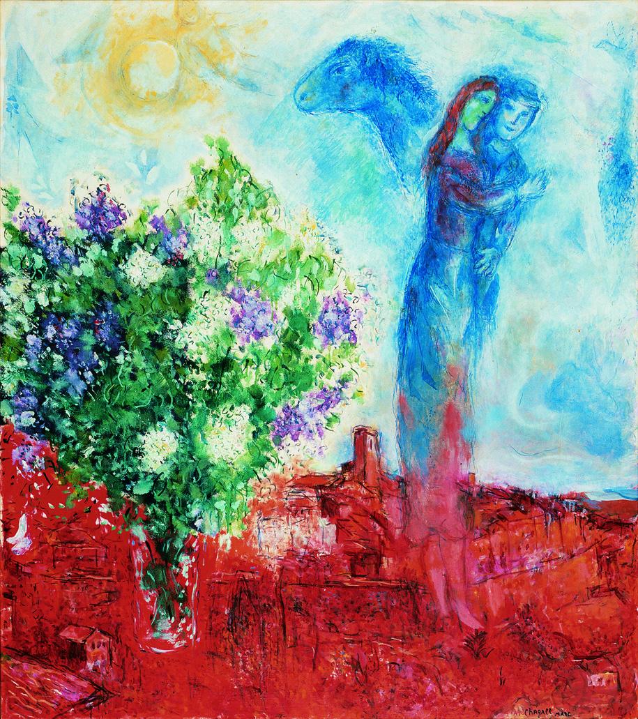 Marc Chagall, biografia, opere e citazioni