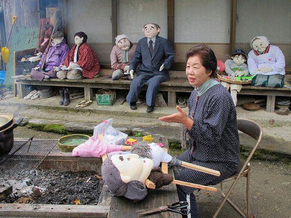Tsukimi Ayano, il Villaggio della Bambole. Nagoro, Giappone