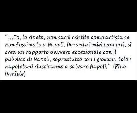 Pino Daniele, biografia e citazioni