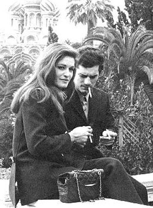 Luigi Tenco e Dalida.
