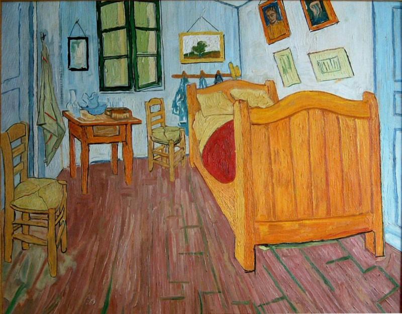"""Vincent Van Gogh, """"La camera di Van Gogh"""", 1888."""
