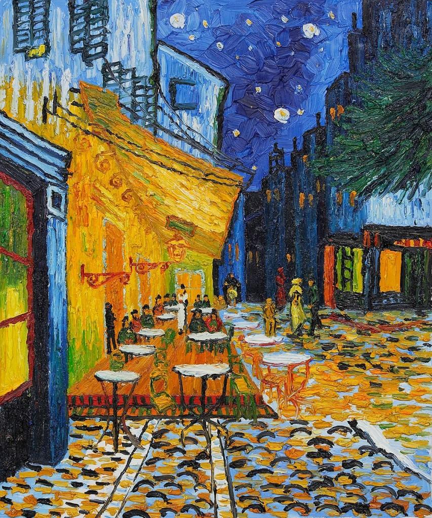 """Vincent Van Gogh, """"Terrazza del caffè la sera"""" (1888)"""