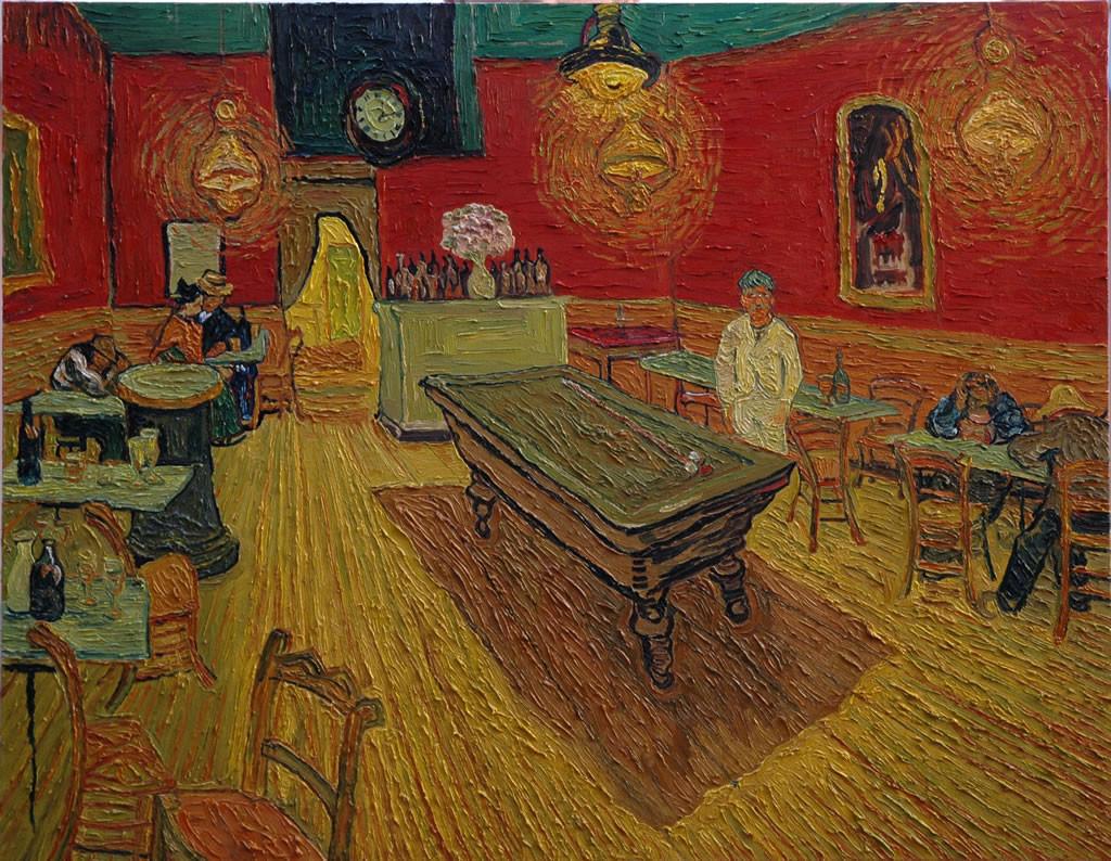 """""""Il caffè di notte"""", 1888."""