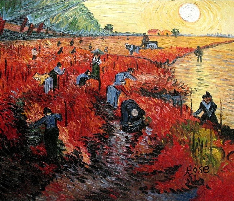 """""""La vigna rossa"""", 1888"""
