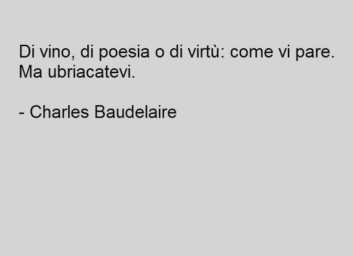 Charles Baudelaire, biografia e citazioni