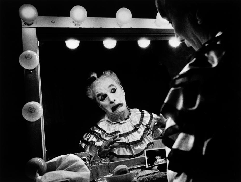 """Una scena del film """"Luci della ribalta"""" (1952)"""