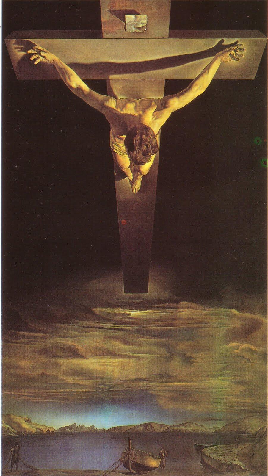 """""""Cristo di San Giovanni della Croce"""" di Salvador Dalì"""