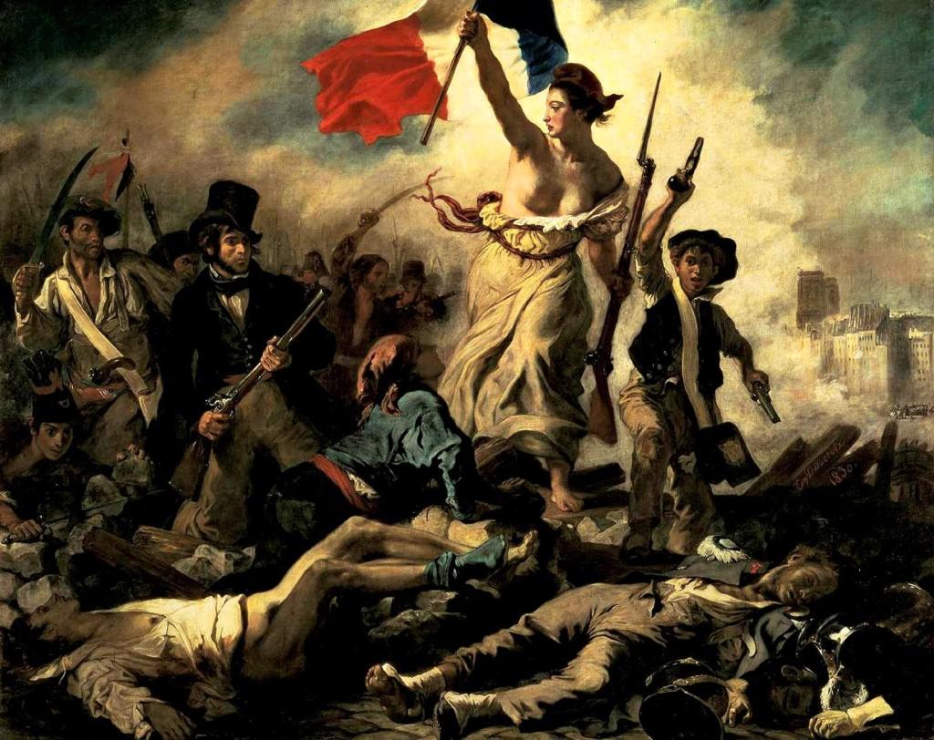 """""""La libertà che guida il popolo"""", 1830"""