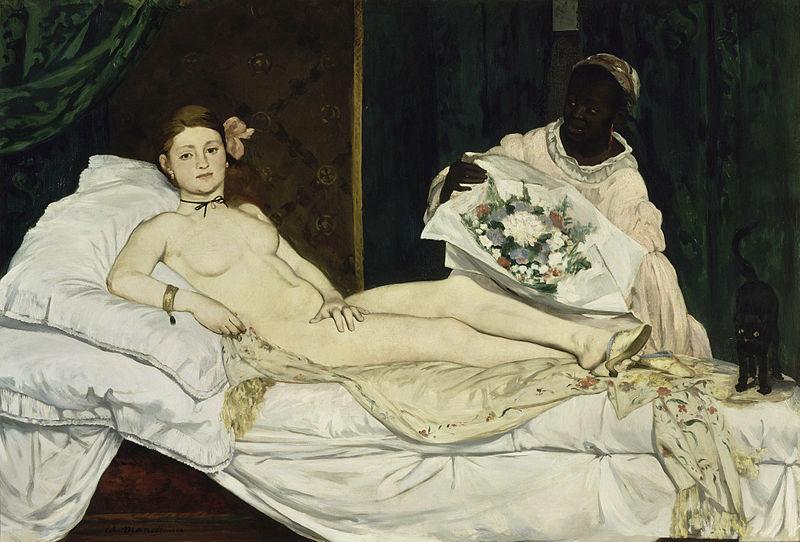 """""""Olympia"""", 1863 Musée d'Orsay, Parigi."""