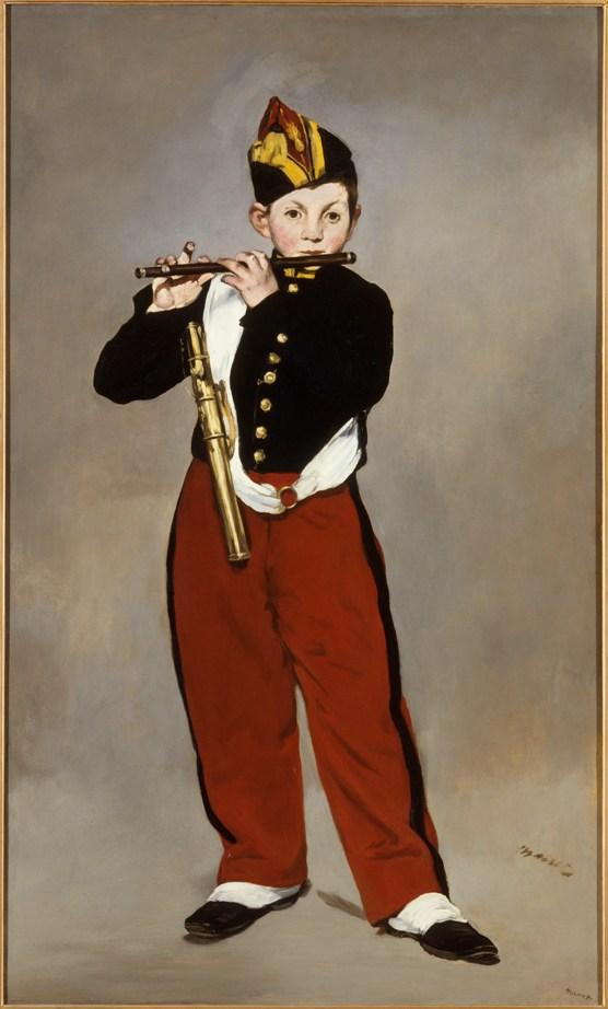 """""""Il pifferaio"""", 1866. Olio su tela. Musée d'Orsay di Parigi."""