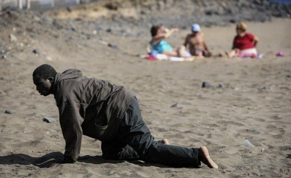 Juan Medina, fotografo argentino. Citazioni sull'immigrazione