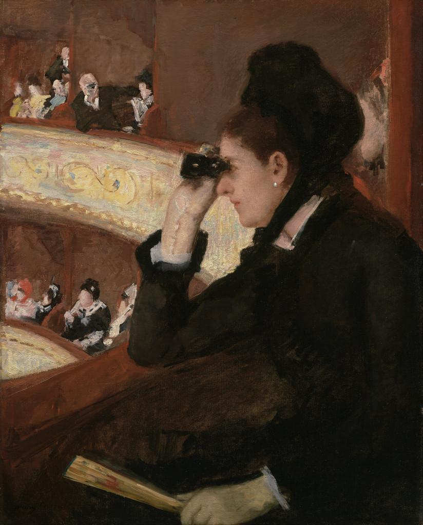 """""""Nel palco"""", 1878"""