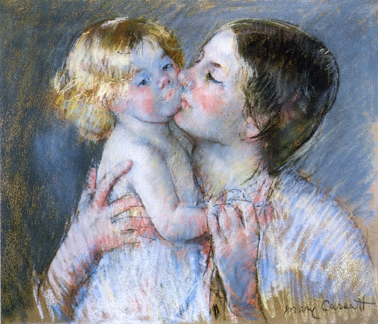 """""""Un bacio per la piccola Anne"""", 1897"""