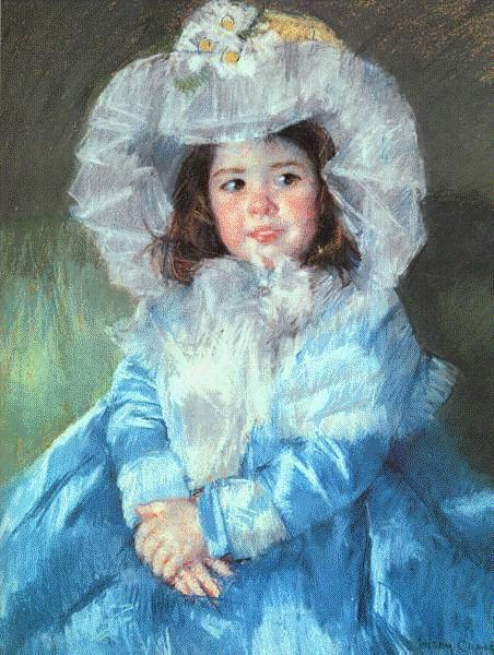 """""""Margot in Blue"""", 1902"""