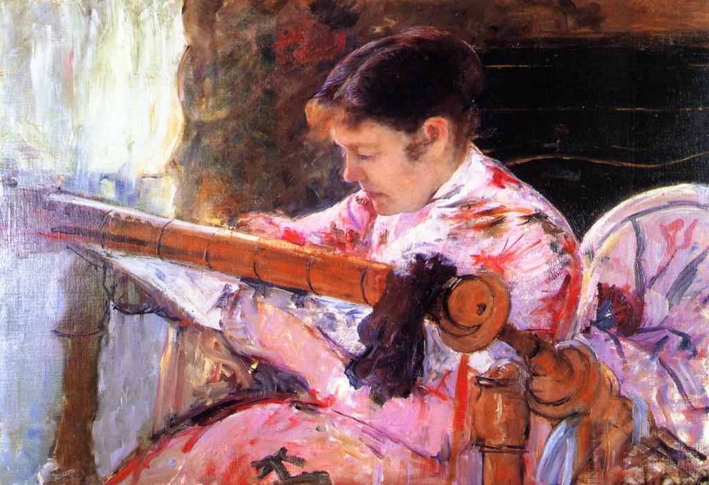 """Lidya al telaio"", 1881"