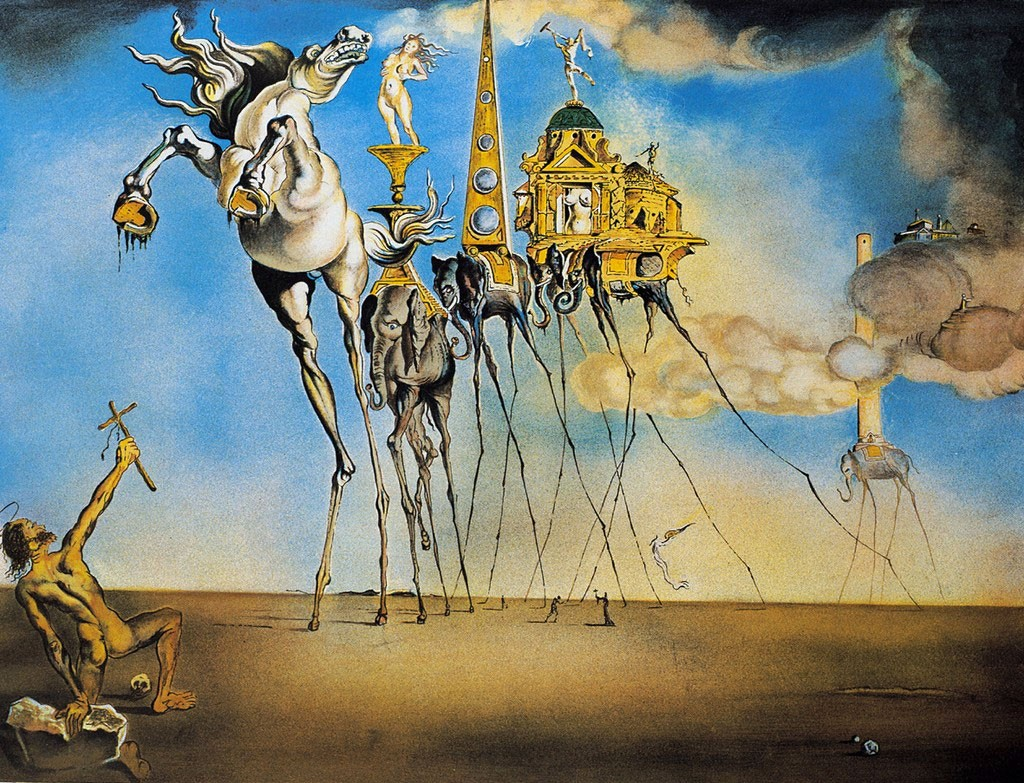 Salvador Dalì, biografia,stile, opere e citazioni