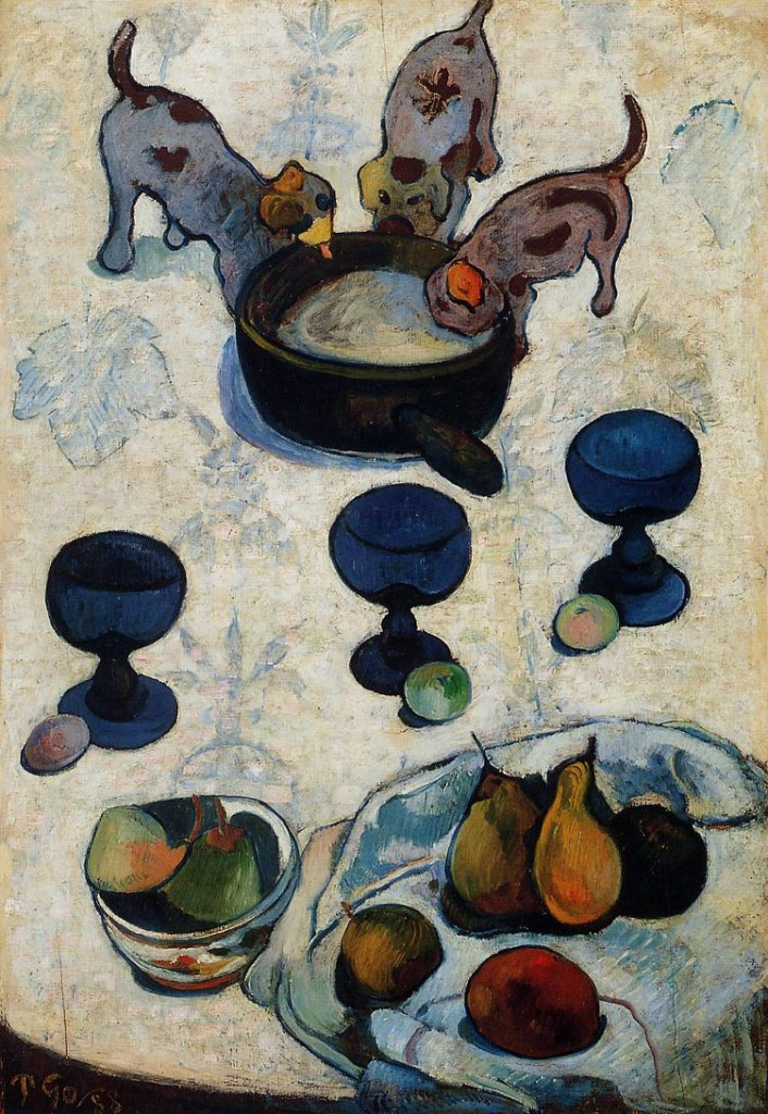 """Still Life with Three Puppies"", 1888"