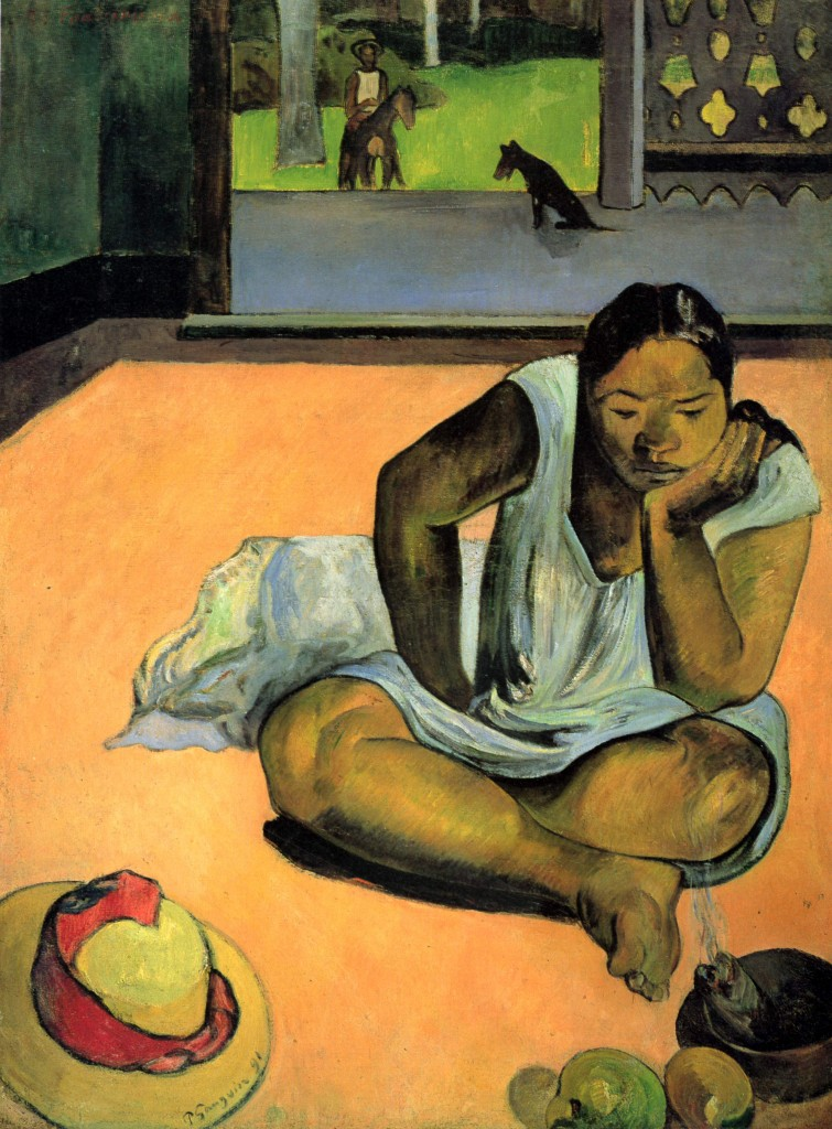 """Te Faaturuma"" (Brooding Woman"", 1891"